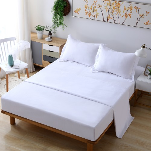 4 Piece Bed Sheet Set - Soft, Wrinkle and Fade Resistant