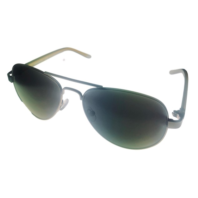 Skechers Mens Gunmetal  Aviator Metal Sunglass. SE8021. 8A