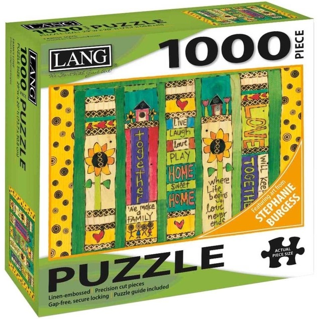 Family Love 1000 Piece Puzzle, 1000 Piece Puzzle by Lang Companies