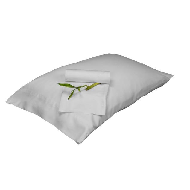 Bedvoyage King Size Pillowcase - White