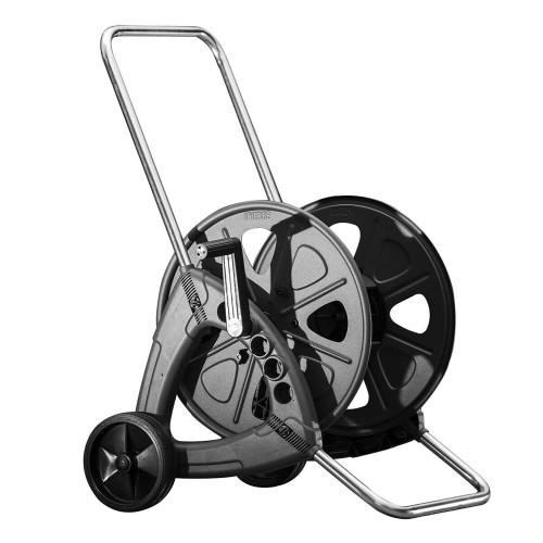 Costway Garden Hose Reel Cart Holds 328ft of 1/2'' Hose or 115ft of 5/8'' o