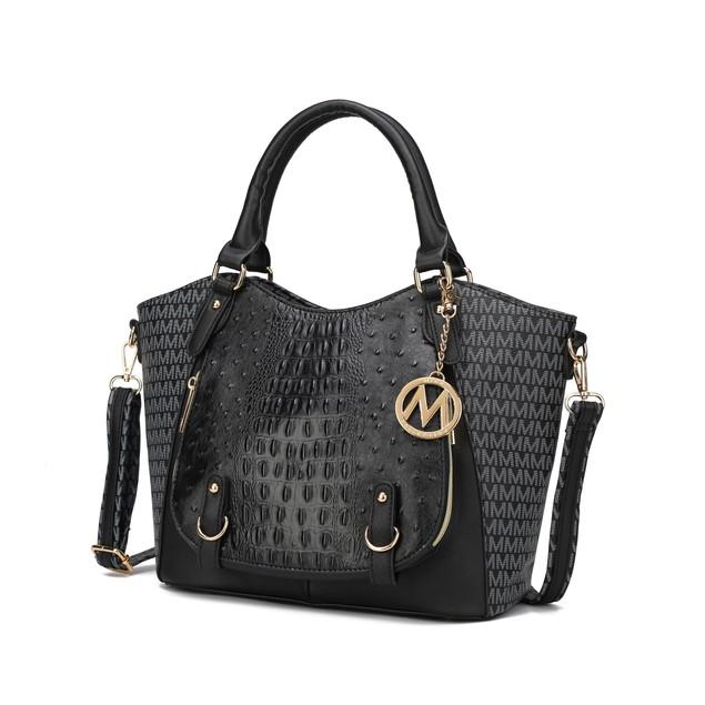 MKF Collection Jacqueline Signature Satchel Bag by Mia K