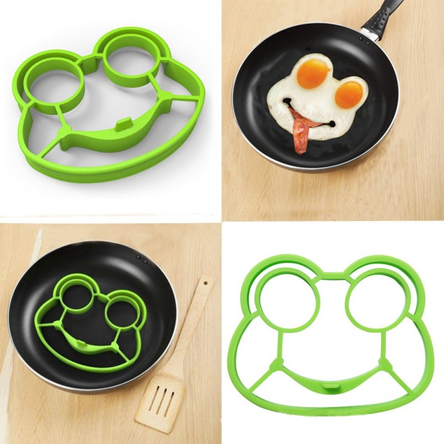 Silicone Shaped Fried Egg Fried Eggs Shaper Breakfast Kitchen Cooking Tool