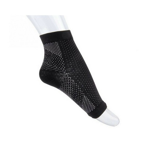 Anti-Fatigue Compression Ankle Sock for Improved Circulation, Swelling Relief, Plantar Fasciitis Relief and Tired Feet