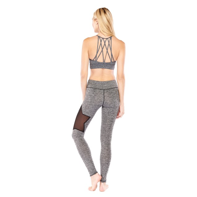 Electric Yoga Star Legging and Bra Set