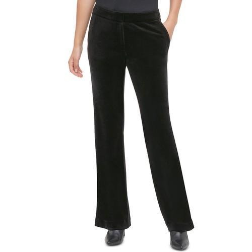Calvin Klein Women's Velvet Pants Black Size 18W