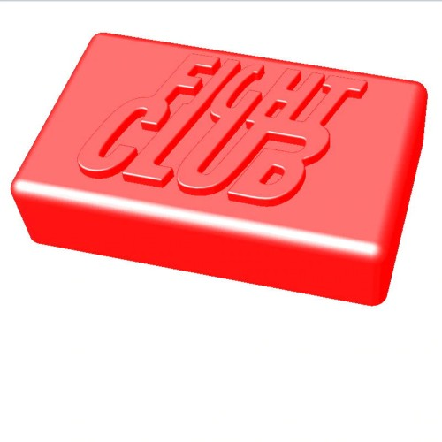 Fight Club Soap Shaped Mold