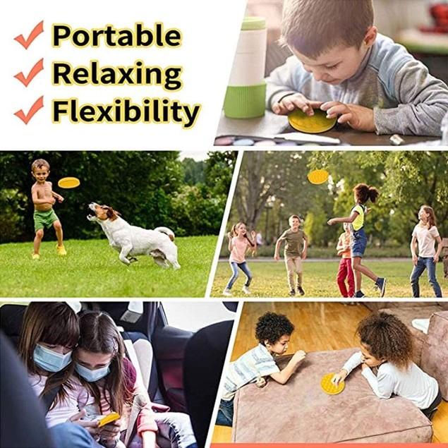 3-Pack Bubble Pop Sensory Fidget Toys