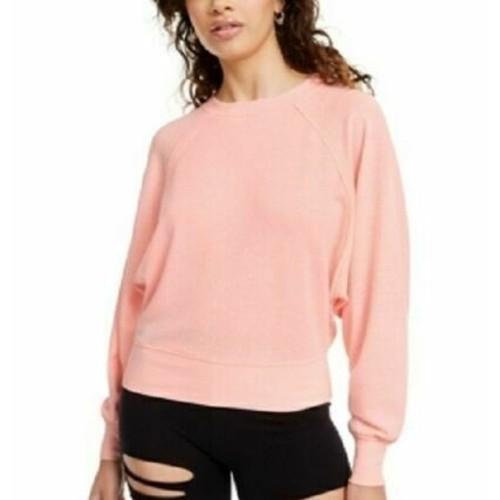 Crave Fame Juniors' Dolman-Sleeved Sweatshirt Med Pink Size Medium