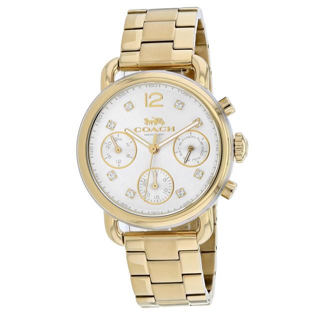 Coach Women's Delancey Silver Dial Watch - 14502943