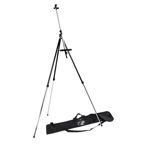 Offex Student Field Easel with Bag - Black