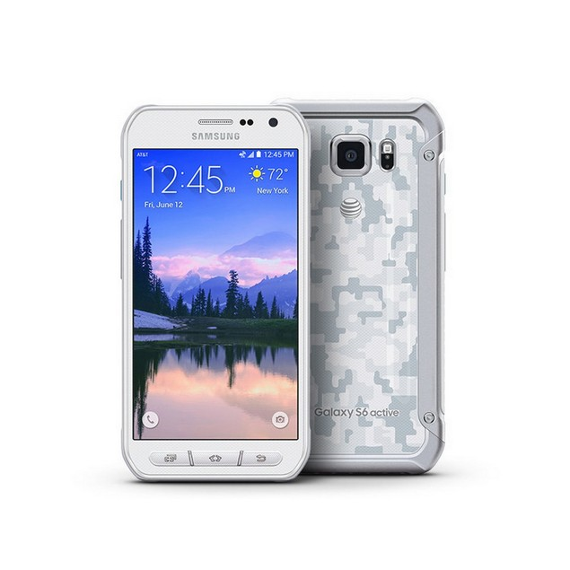 Samsung Galaxy S6 Active, AT&T, Grade B-, White, 32 GB, 5.1 in Screen