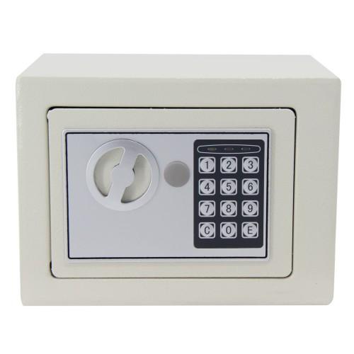 17*23*17cm Digital Keypad Safe White