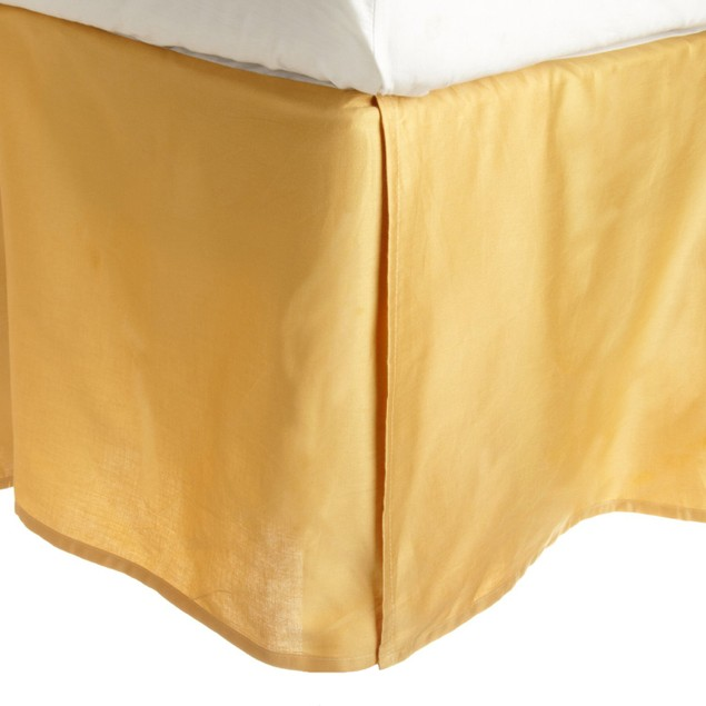 Solid 300-Thread Count Egyptian Cotton Bed Skirt