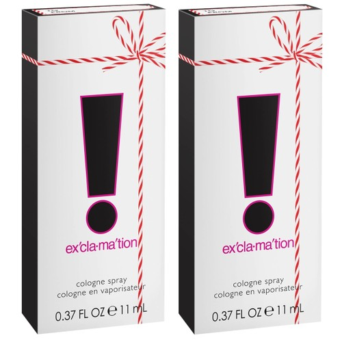 2-Pack Exclamation Cologne Spray for Women, 0.375 oz