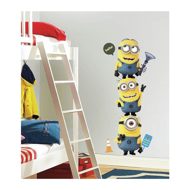 Roommates Baby Room Wall Decor Despicable Me 2 Minions Giant Wall Decals