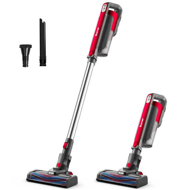 Costway Cordless 6 in 1 Handheld Stick Vacuum Cleaner W/Detachable Battery