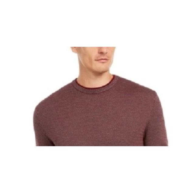 Tasso Elba Men's Supima Cotton Crewneck SweaterDark Brown Size XX-Large