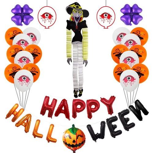 Halloween Aluminum Film Character Balloon Spoof Party Scene Layout