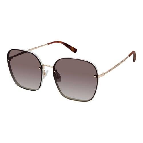 Rebecca Minkoff Women Sunglasses RMGLORIA3S BQB Gold/Cream Square Gradient