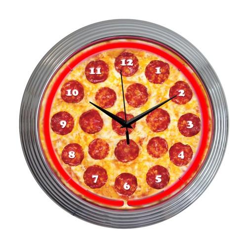 Neonetics Speed Shop Neon Clock