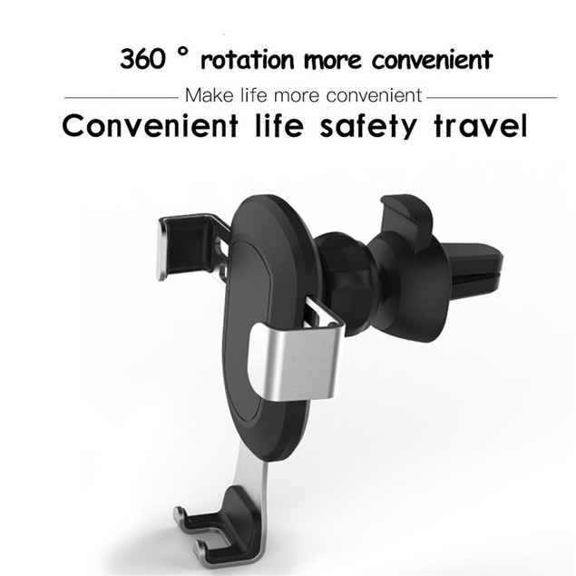 Universal Gravity Smartphone Car Air Vent Mount