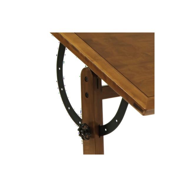 "Offex Vintage 36"" Drafting Table Rustic Oak"