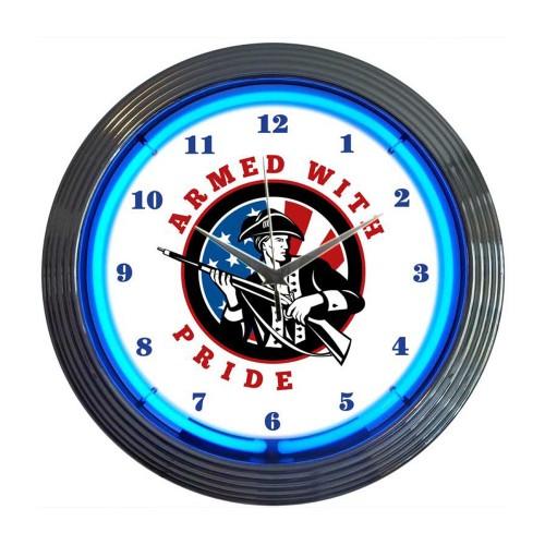 Neonetics Island Time Neon Clock
