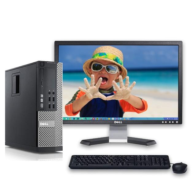 "Dell 7010 Desktop Intel i5 8GB 500GB HDD Windows 10 Professional 20"" Monito"