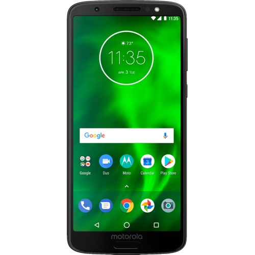 "Motorola Moto G6 32GB 5.7"" Android Smartphone for Verizon (Deep Blue)"