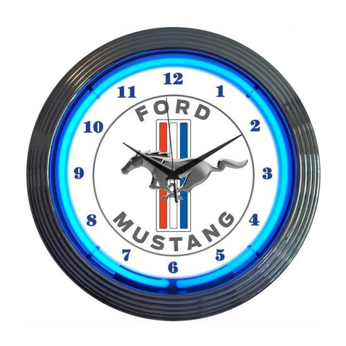 Neonetics Powered By Ford Neon Clock