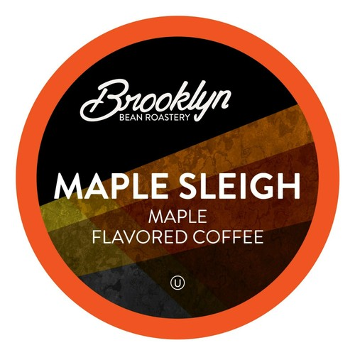 Brooklyn Beans Maple Sleigh Coffee Pods for Keurig K-Cups Brewer, 40 count
