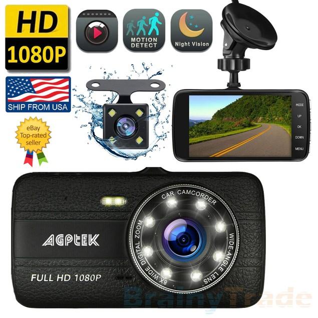 Vehicle 1080P HD Car Dashboard DVR Camera Video Recorder Dash Cam G-Sensor