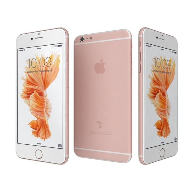 Apple iPhone 6s, T-Mobile, Pink, 16 GB, 4.7 in Screen