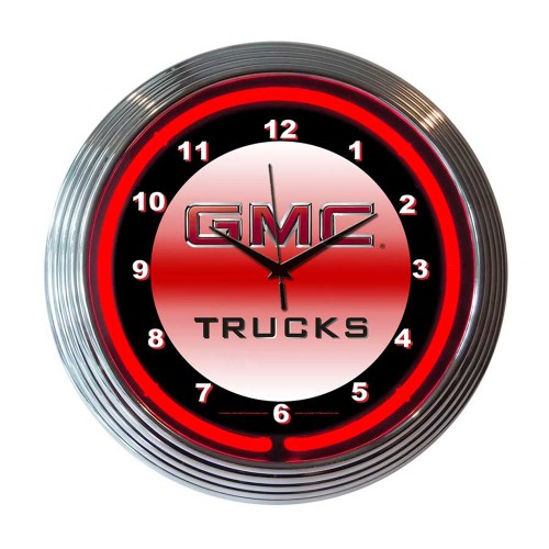 Neonetics Impala Neon Clock