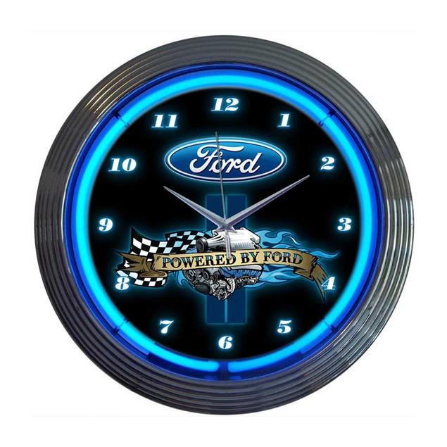 Neonetics Ford Thunderbird Neon Clock