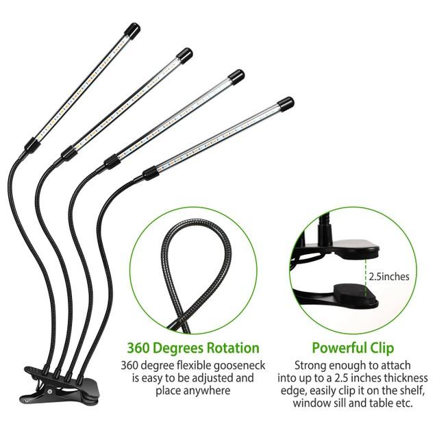 Grow Lights for Indoor Plants, iMounTEK 80W 80 LEDs Plant Lights