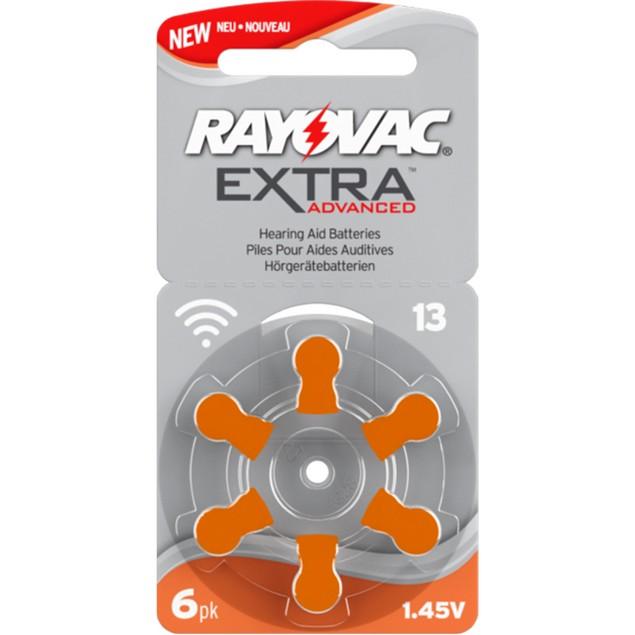 Rayovac Size13 MF Zinc Air Hearing Aid Batteries (60 pack)
