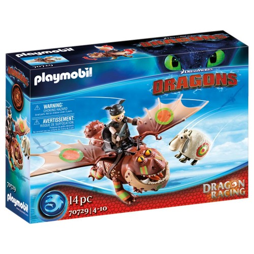 Playmobil Dragon Racing Fishlegs and Meatlug Playset