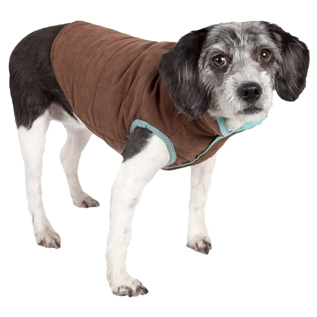 Touchdog Waggin Swag Reversible Insulated Pet Coat