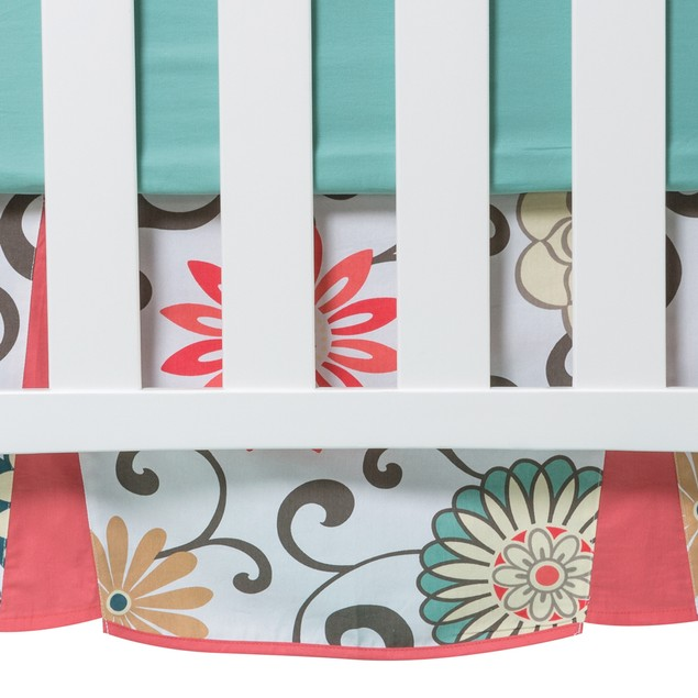 Trend Lab Waverly Pom Pom Play Crib Bedding Set - 4 Piece