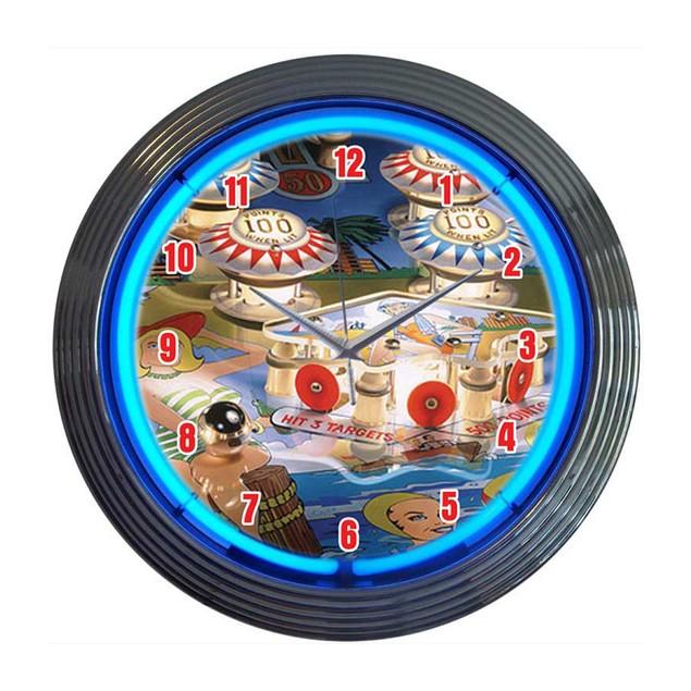 Neonetics Speedometer Neon Clock
