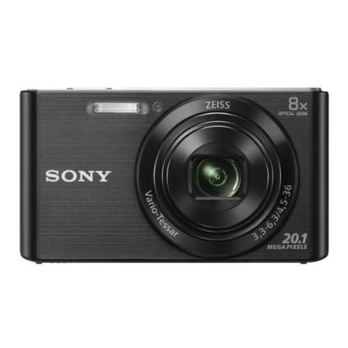 Sony Cyber Shot DSC-W830 20.1MP Digital Camera 8x Optical Zoom Black