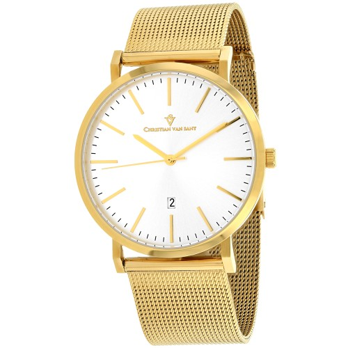 Christian Van Sant Men's Paradigm Silver Dial Watch - CV4325