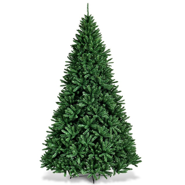 Costway 9ft Hinged Christmas Tree Douglas Full Fir Tree 3594 Tips