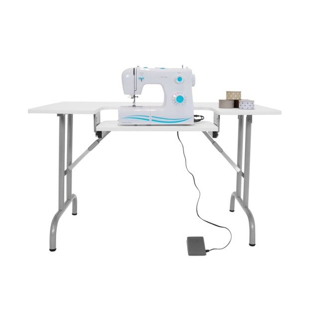 Offex Folding Multipurpose Sewing Table