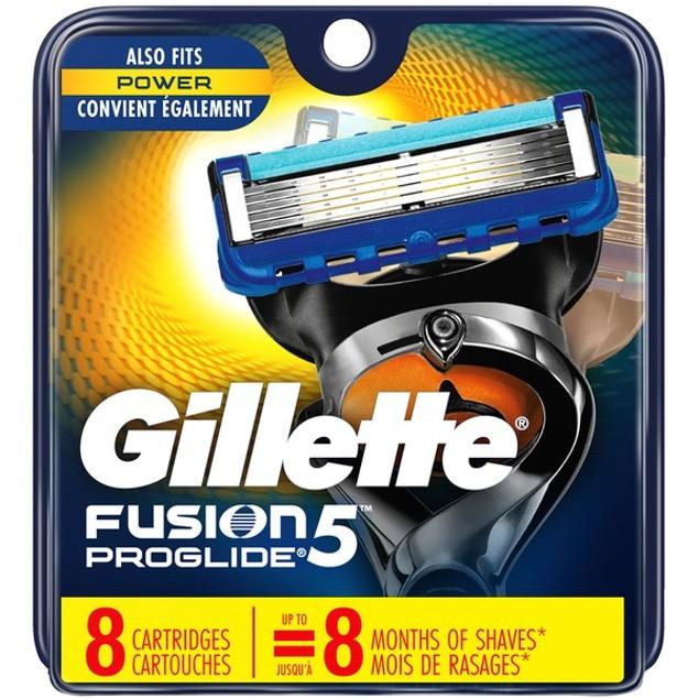 Gillette Fusion5 Proglide Refill Blade Cartridges for Men, 8 Count
