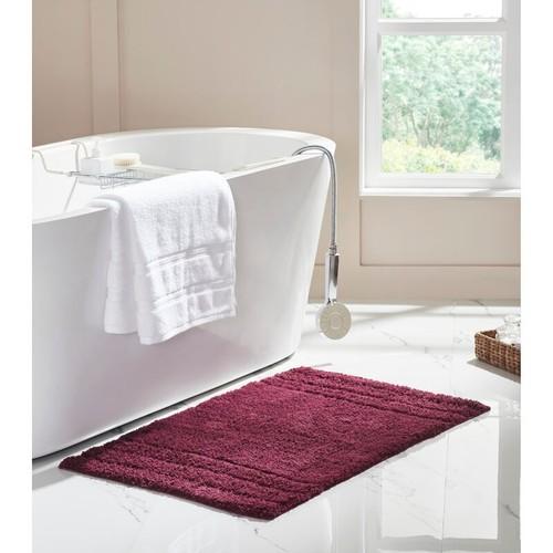 Ultra-Soft Absorbent 100% Cotton Anti-Slip Bath Mat