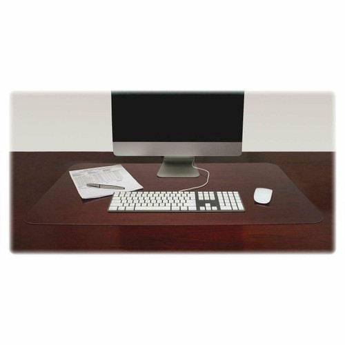 "36""x20"" Clear View Antimicrobial Desk Pad Organizer with Antimicrobial"