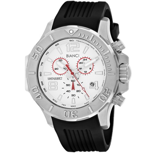 Roberto Bianci Men's Aulia Silver Dial Watch - RB55051